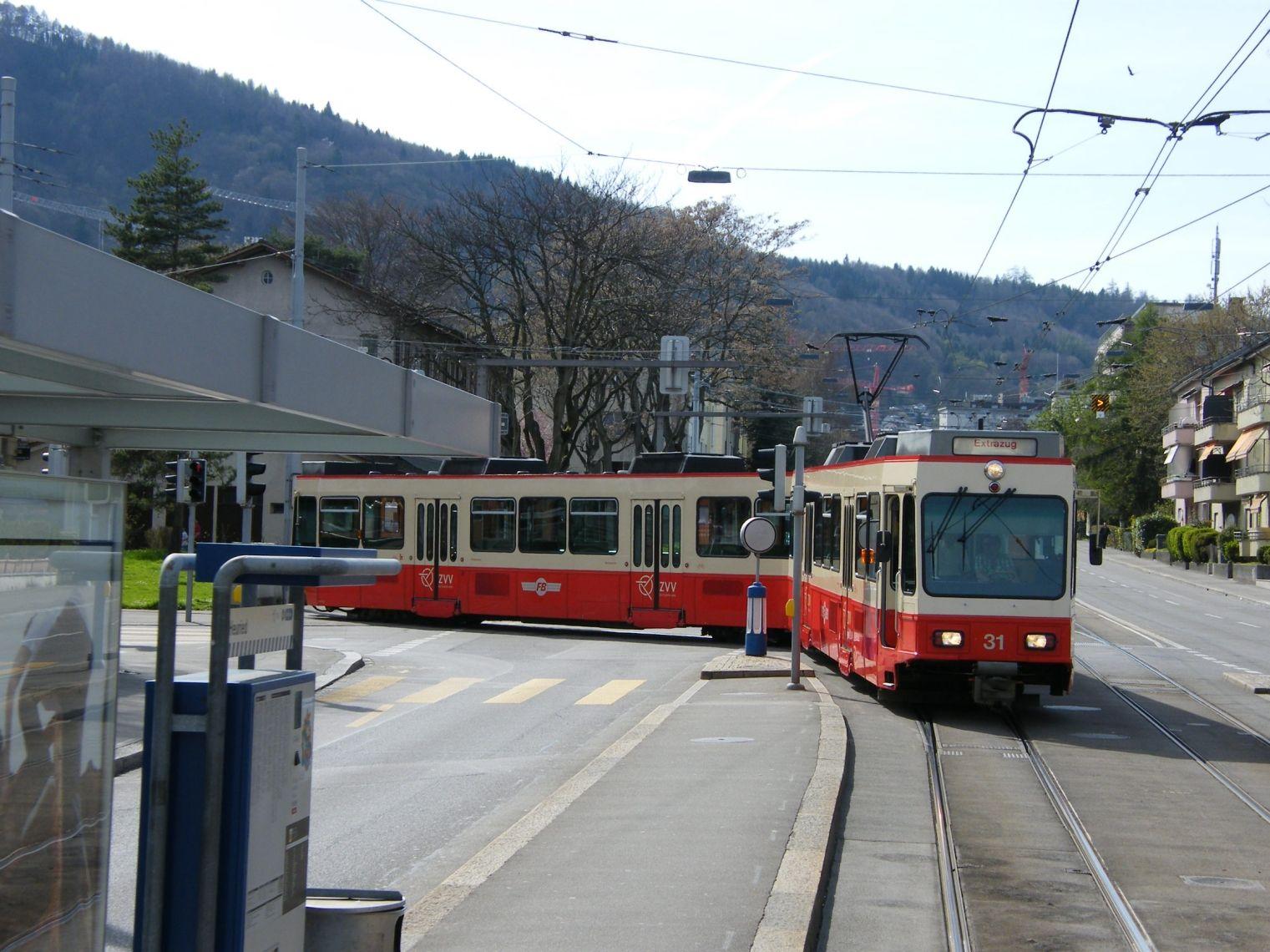 Forchbahn auf Abwegen am 3. April 2011