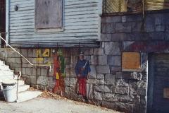 Annaburg März 1990 mit Bemalung