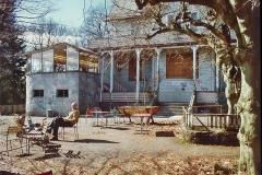 Annaburg März 1990 mit Vati